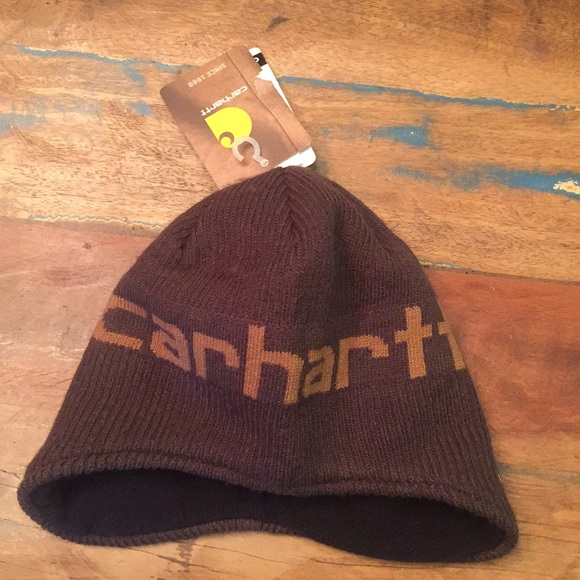 bb19243cc New youth Carhartt hat. Fleece lined winter NWT